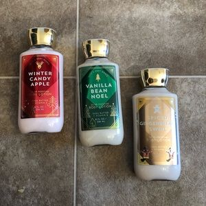 Bath and Body Works Winter Collection Body Lotion